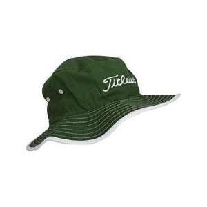 Titleist Bucket Hat   Hunter Green   Small/Medium: Sports & Outdoors