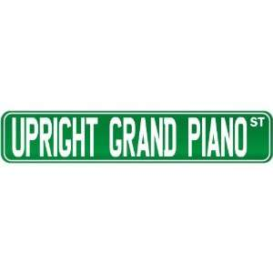 New  Upright Grand Piano St .  Street Sign Instruments